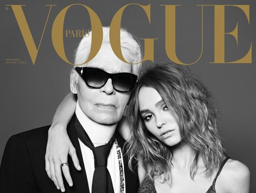 "Lending an extra touch of ""tres cool"" to @VogueParis: guest-editor @KarlLagerfeld https://t.co/8kWzw63bxM https://t.co/jvvkiHLPyH"