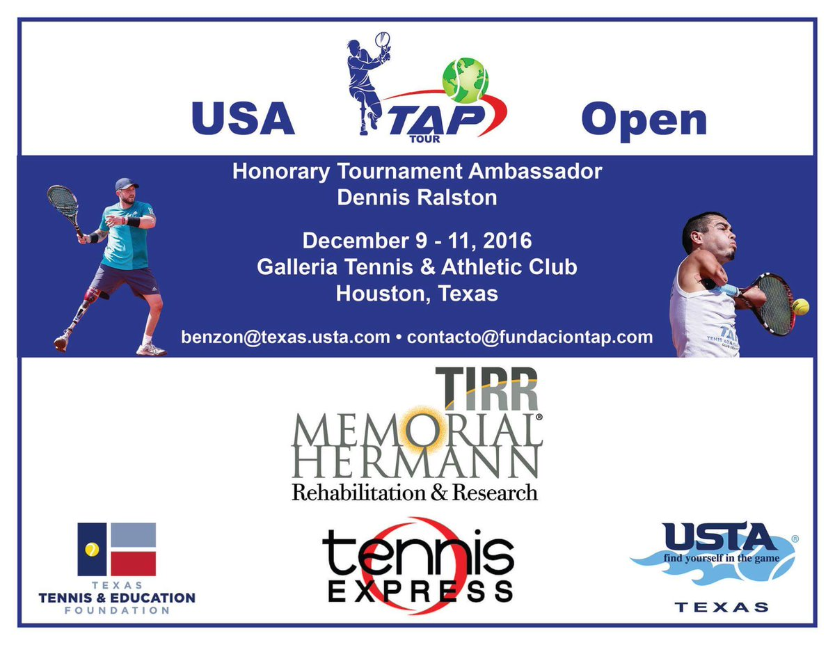 Houston Tennis Assoc On Twitter Volunteers Wanted Tap Tennis