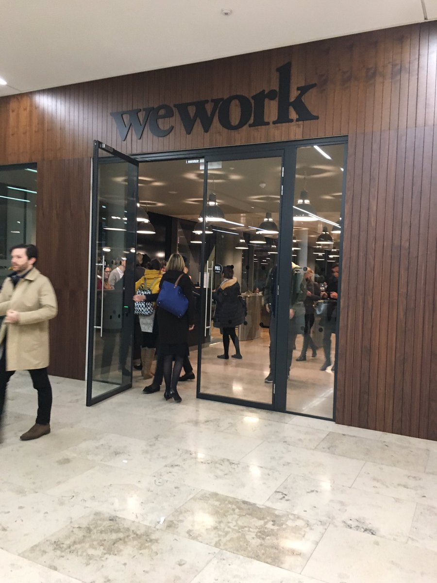 Fascinating visit to WeWork at Moorgate hosted by Investment Property Forum #customerexperience