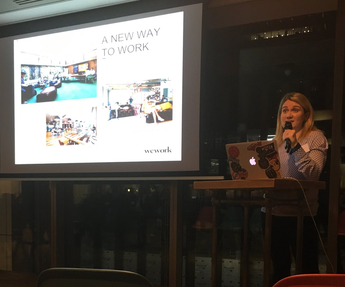 """""""We're a community not a serviced office provider"""" #WeWork"""