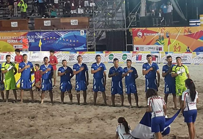 III Juegos Bolivarianos de Playa en Iquique Chile: Juegos Grupo B. Cyd-deqUUAAptok