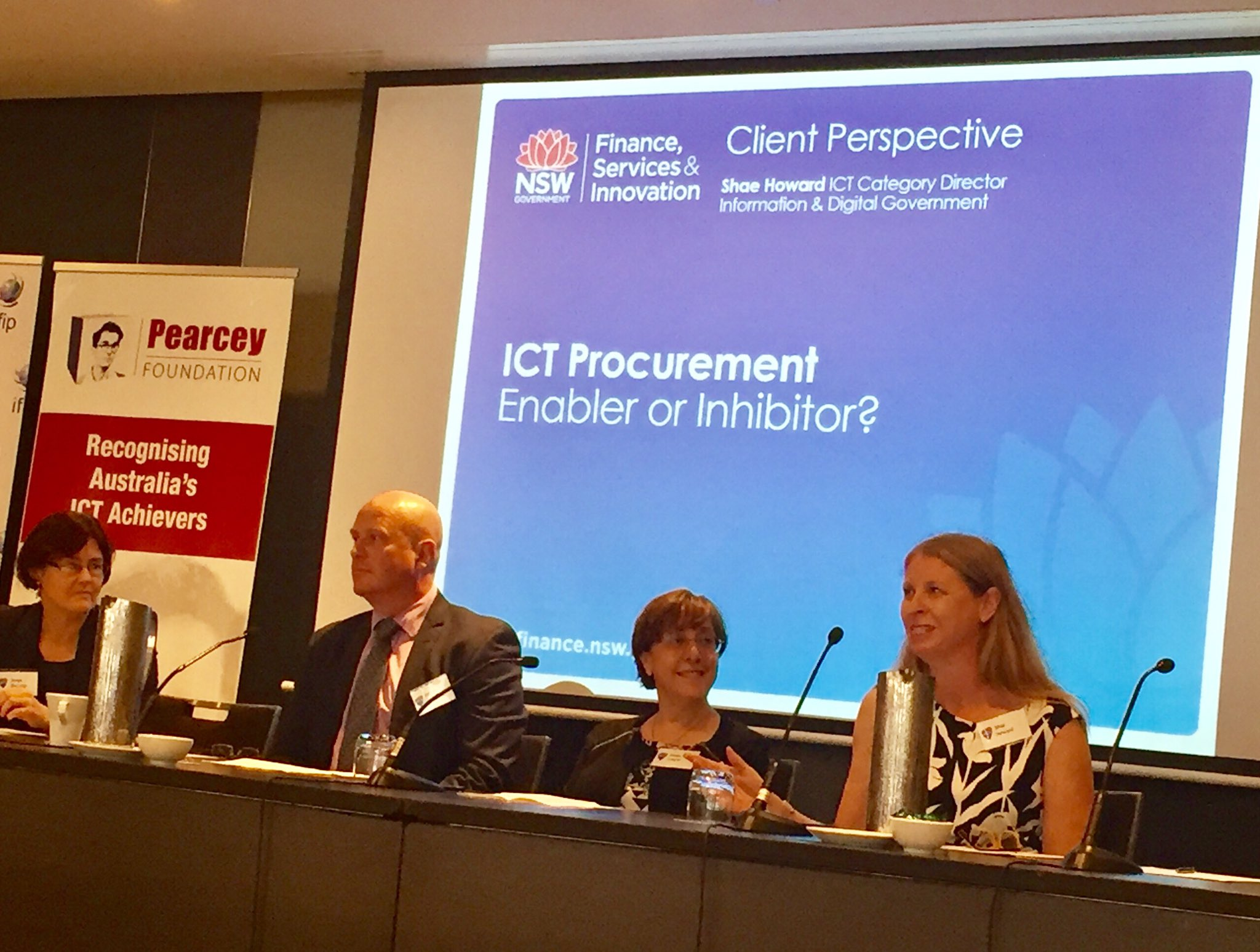 Client perspective ICT Procurement challenge @ICT_NSW Shae Howard  view from inside government welcomed open innovation opportunity https://t.co/d4mUGGdrGt