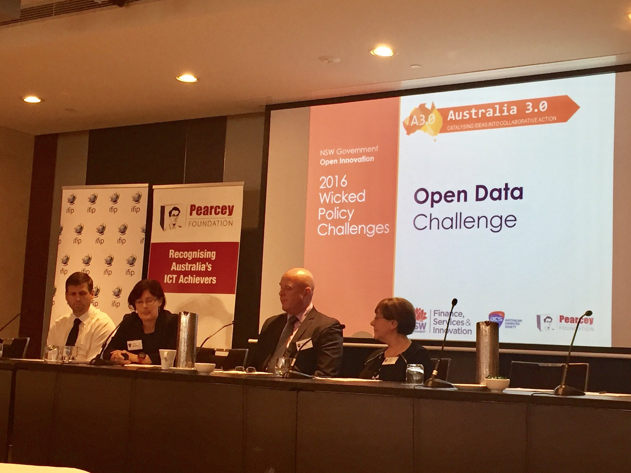 Sonya Sherman @datansw #OpenData challenge asked teams to think about how to make NSW data more usable, easier to navigate and relatable https://t.co/mu4oKv2kph