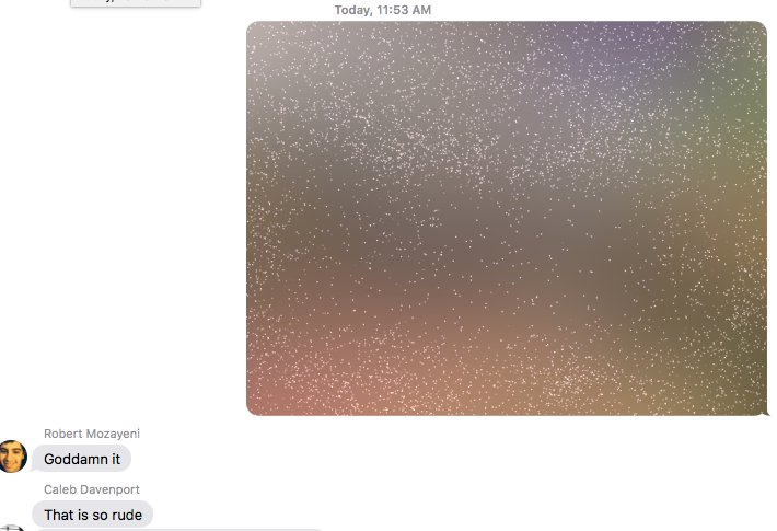 "New hobby: Sending people a screenshot of ""Invisible Ink"" using ""Invisible Ink"" https://t.co/Eh0yj9hL0M"