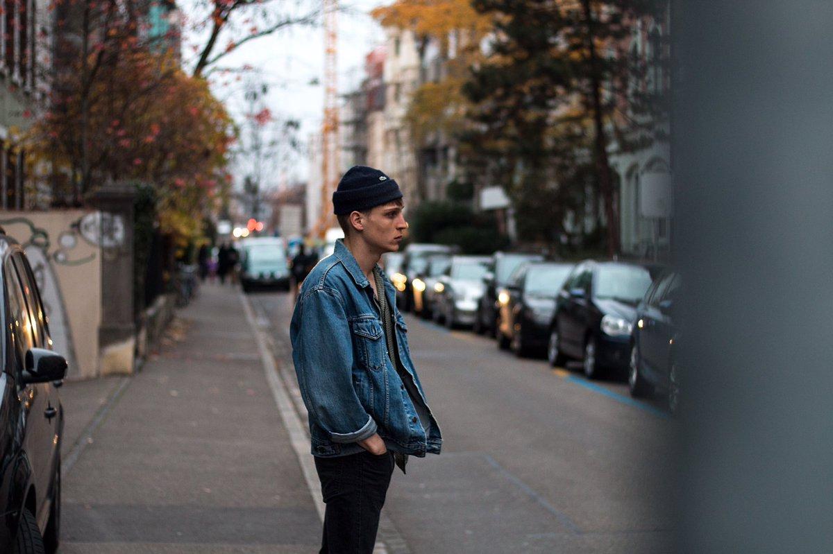 Schwarze oversize jeansjacke damen