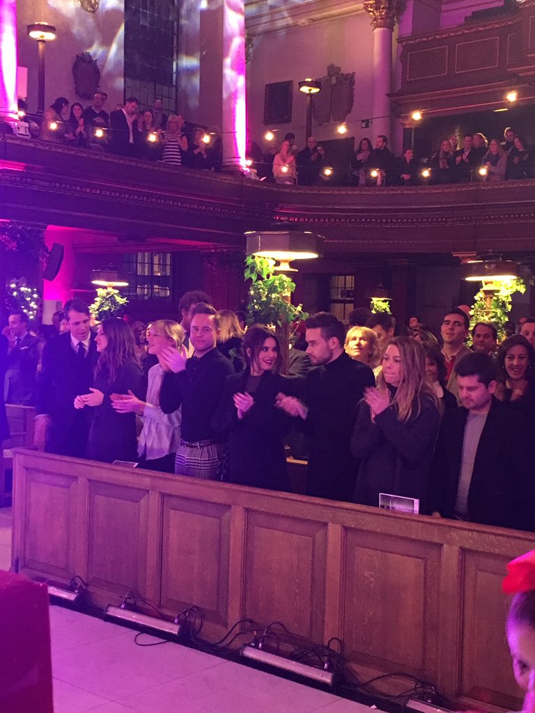 Star studded front row at the Fayre of St James's @benwelliot @CherylOfficial @LiamPayne @ollyofficial https://t.co/70T7dfDZeB