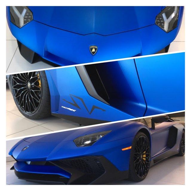 Lamborghini Dallas On Twitter 2017 Aventador Sv Adorned In Matte