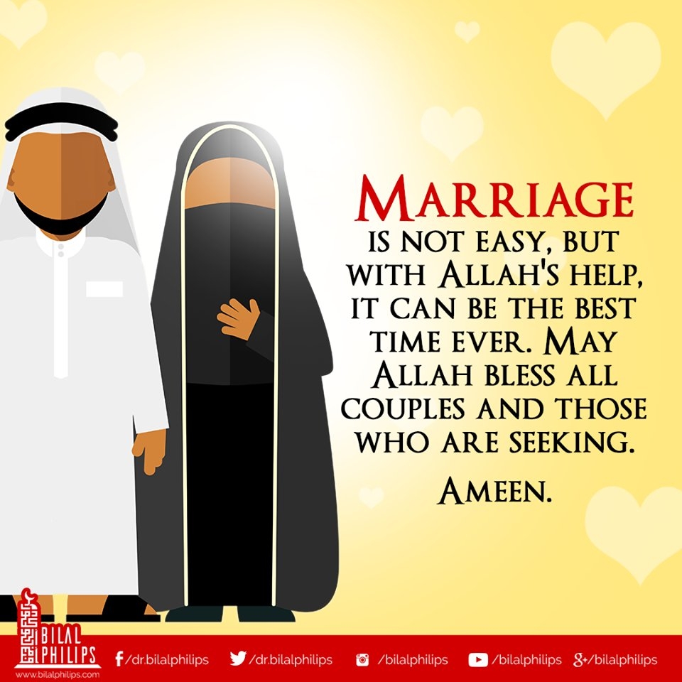 """Dr. Bilal Philips on Twitter: """"Both husband and wife ..."""