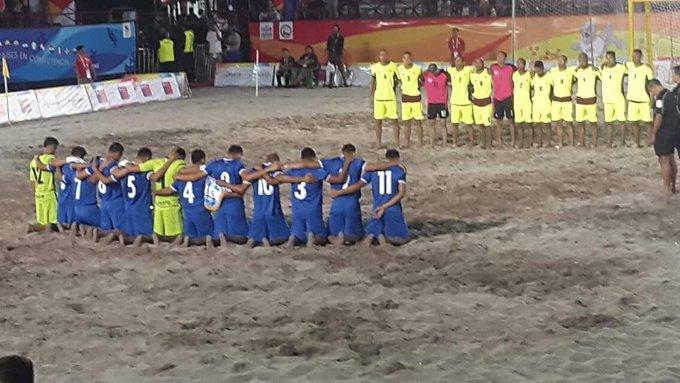 III Juegos Bolivarianos de Playa en Iquique Chile: Juegos Grupo B. Cyd_PrHVQAAkPMH