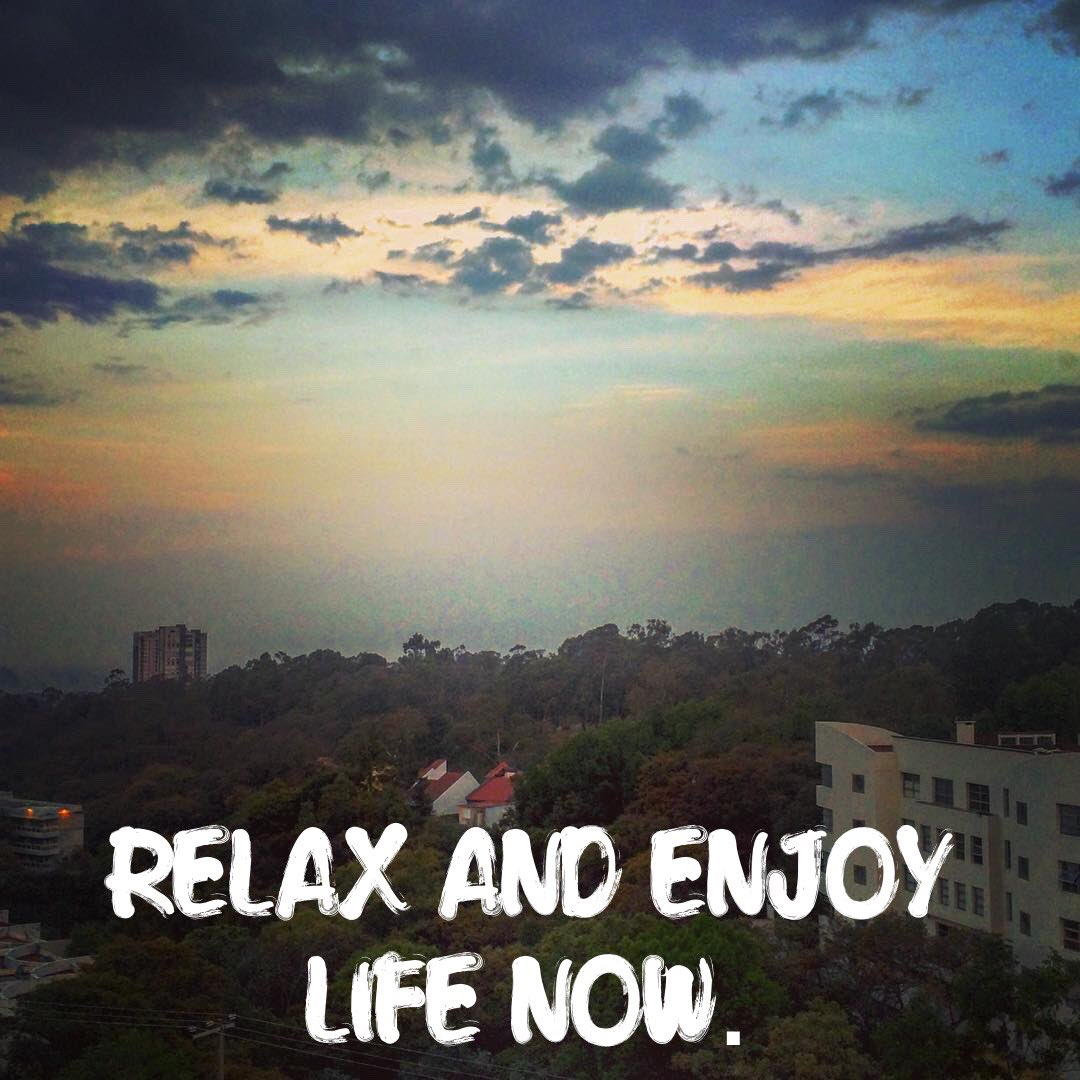 dr robbie king on relax and take time to enjoy life