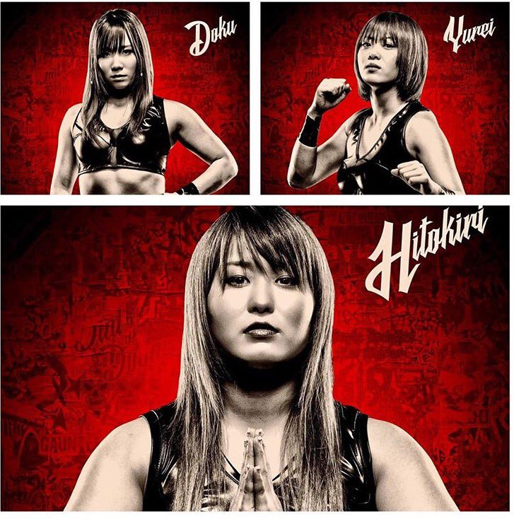 #LuchaUnderground #BlackLotusTriad #FemaleAssassins @wwr_stardom @we_are_stardom #BestInTheBusiness https://t.co/8zRgApYzvC