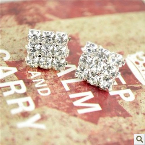 square rhinestone earrings  https://www.ebay.co.uk/str/rubyredsky     #gift  #birthday #jewellry #gadget