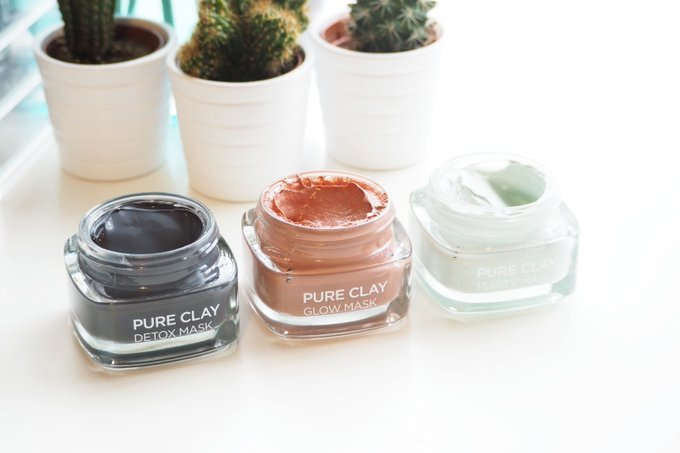 L'Oréal Paris Pure Clay Masks Review