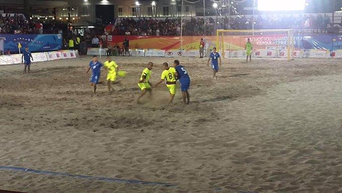 III Juegos Bolivarianos de Playa en Iquique Chile: Juegos Grupo B. CyeI1HjUsAAdy7b