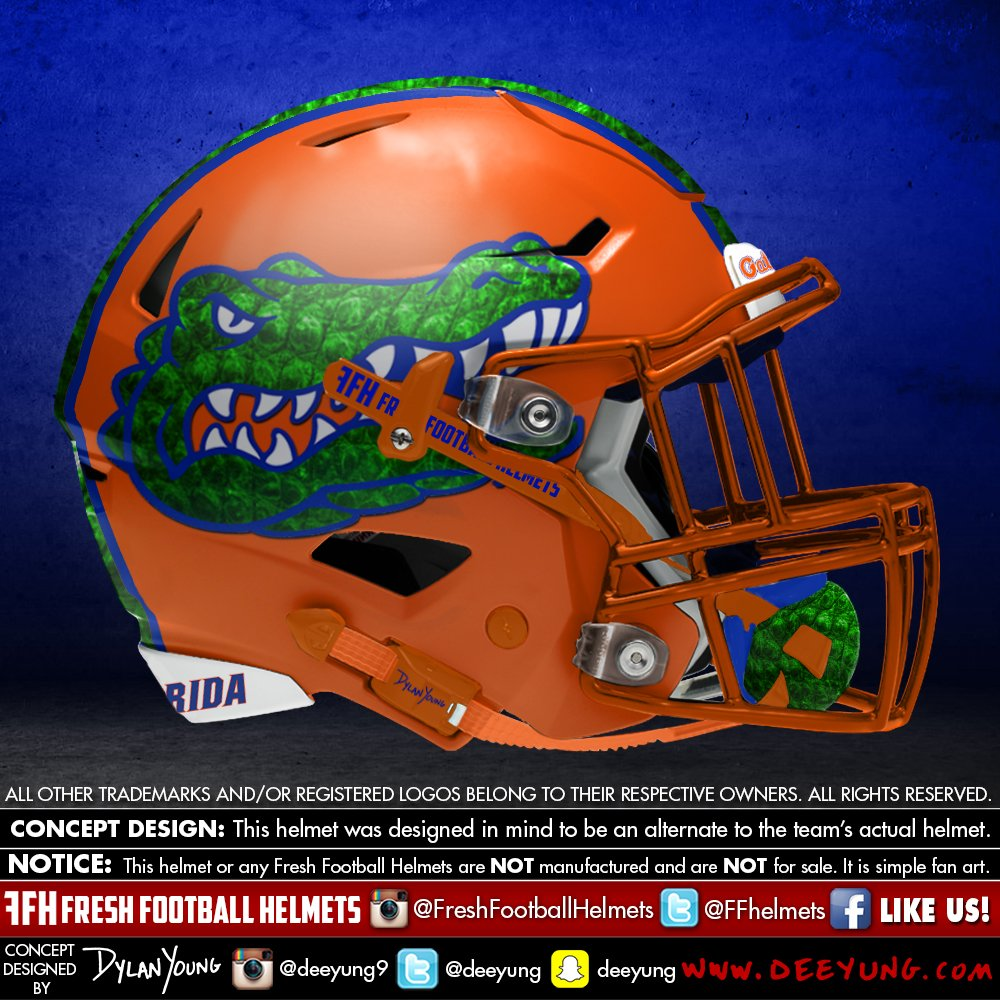 Florida Gators alternative football helmet
