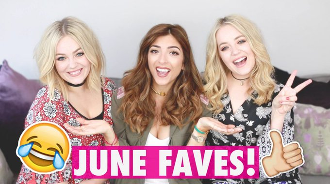 JUNE FAVES WITH LUCY & LYDIA!