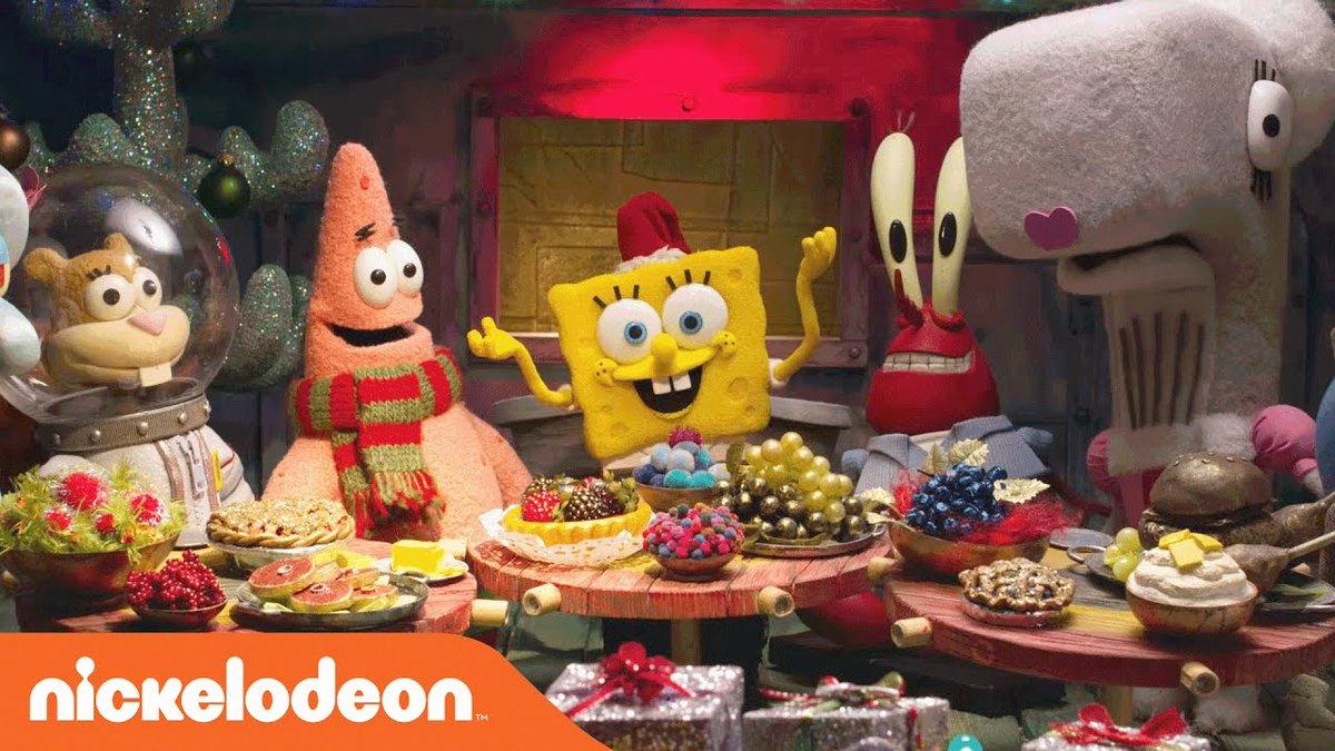 Spongebob Christmas Special.Nickalive Nickelodeon News Bestyearever On Twitter