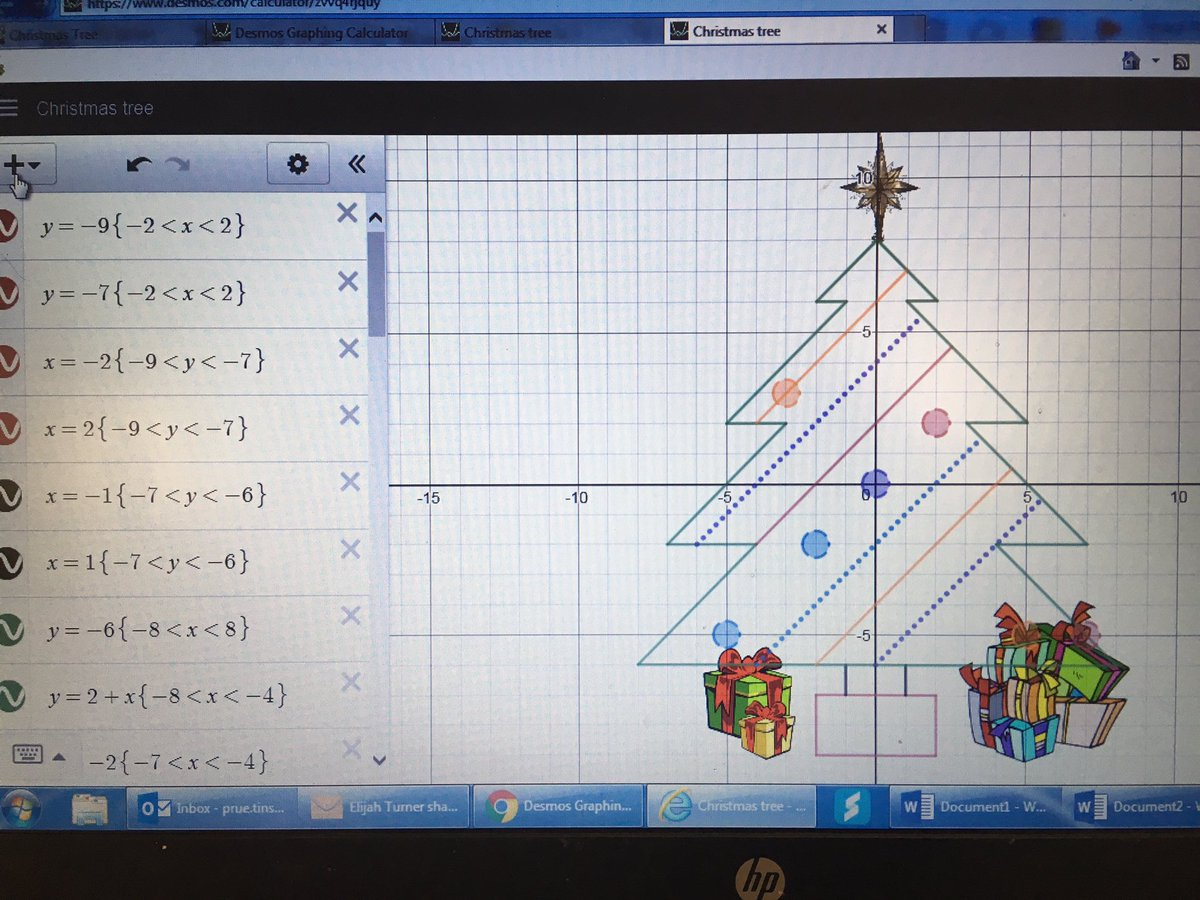 Prue Tinsey On Twitter Christmas Desmos Lessons Year 7 Kids