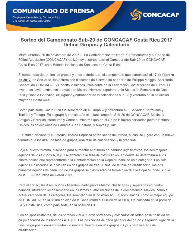 CONCACAF 2017 - Eliminatorias a Copa Mundo 2017. CyeZ2uCXcAAydbu