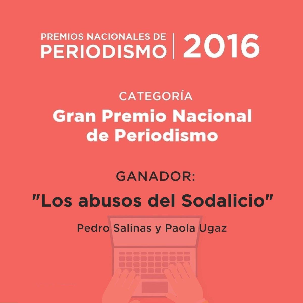 Instituto Prensa y Sociedad premia a los mejores reportajes del Perú ...