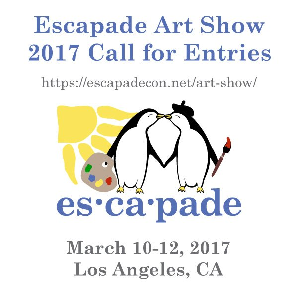 Call for Entries!  Escapade Art Show 2017 - It's never too early to start on something to bring to the art show!  https://t.co/taoqLAqsgm