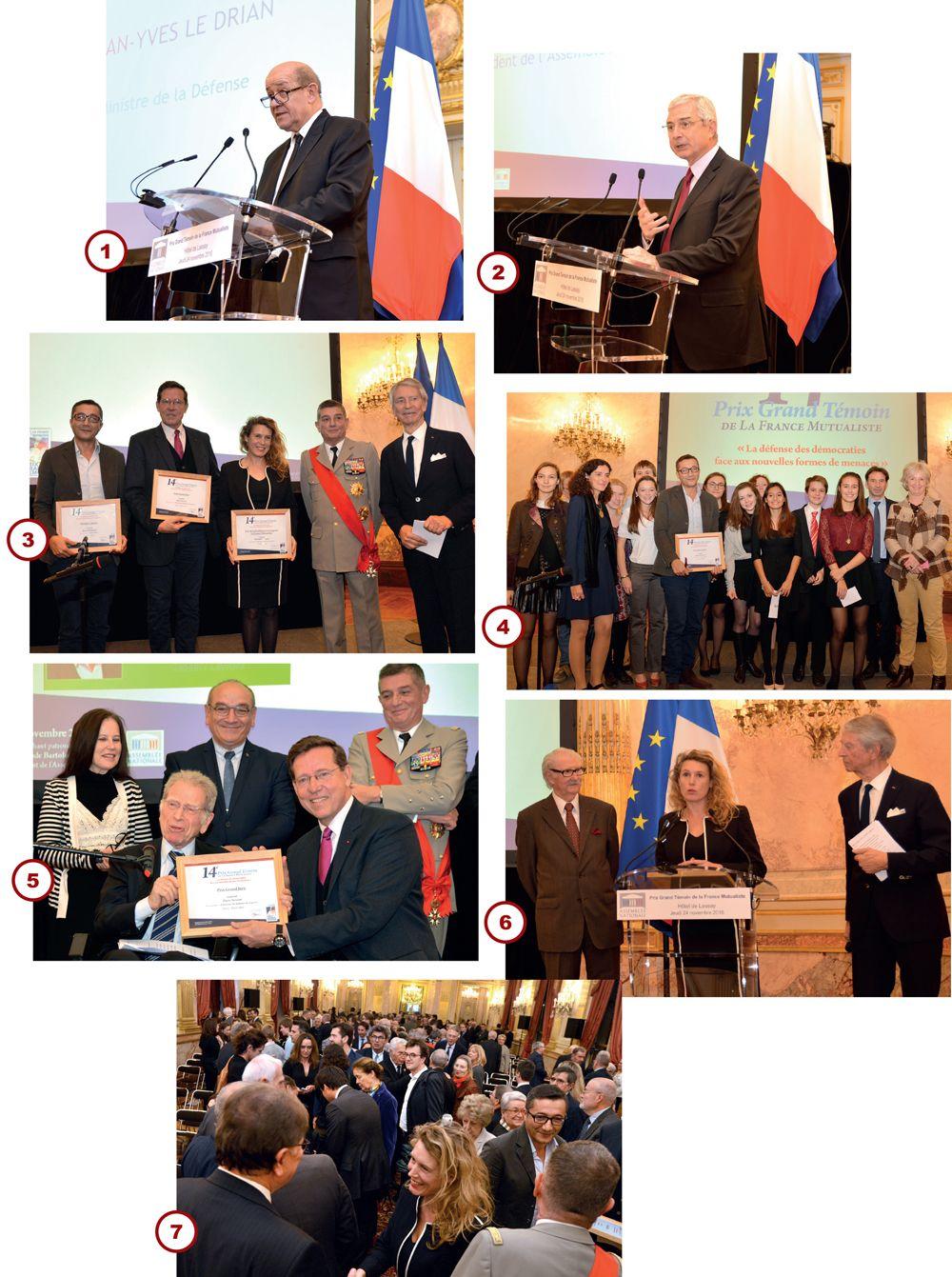 14e Cérémonie de la remise du Prix Grand Témoin de La France Mutualiste® en faveur du Devoir de Mémoire ! https://t.co/l2a7i774Fy https://t.co/XIplTgp8Xg