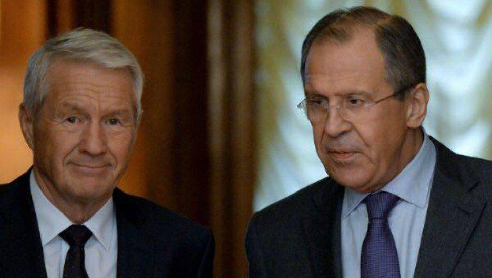 Thumbnail for Lavrov - Thorbjorn Jagland meeting in Moscow   Встреча С.Лаврова и Генерального секретаря Совета Европы