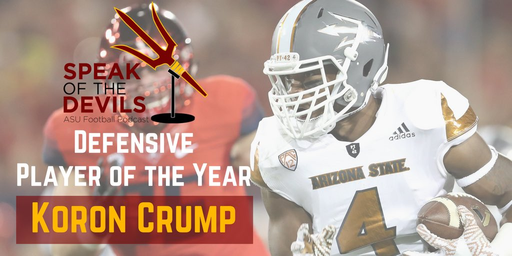 Congrats to our 2016 Defensive Player of the Year, @Crumptrip4. https://t.co/vYCGxO3wdp