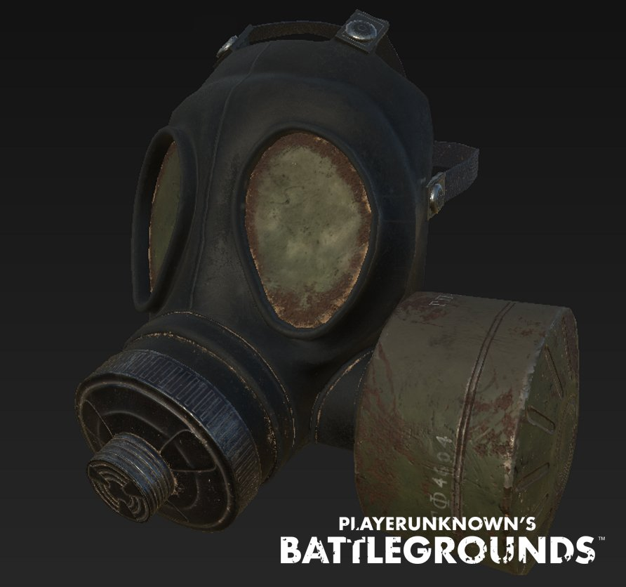 Playerunknown On Twitter Heres A Look The Gas Mask We Will Be