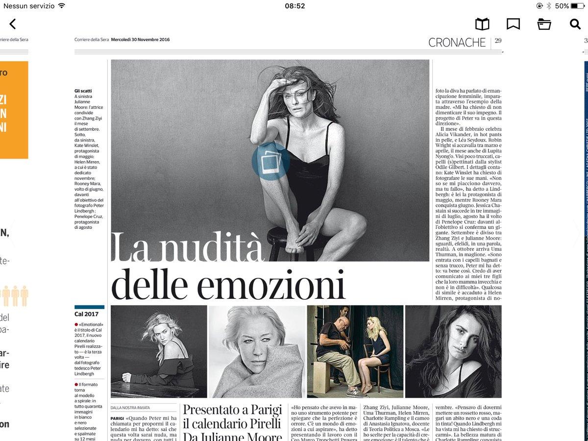 Nuovo Calendario Pirelli.Michela Proietti On Twitter Sul Corriere Il Racconto Del