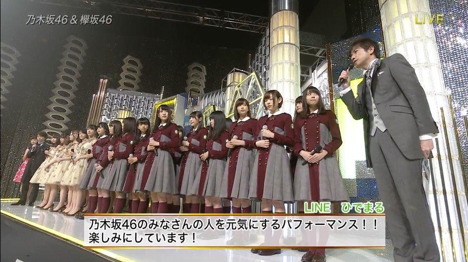 某所で見かけた「坂道グループの衣装は床丈基準で揃えている(身長差があっても裾の位置が揃う)」っていうやつ、こうして画像並べて見るとため息がでるくらい美しいな……。(※一枚目は手前が欅坂、奥が乃木坂)