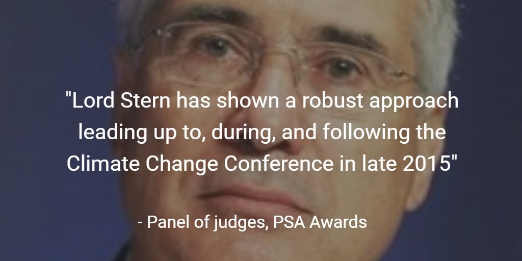 .@lordstern1 honoured by @PolStudiesAssoc for elevating #climatechange to top of political agenda https://t.co/JdAD9OzKbf @GRI_LSE https://t.co/RP1iZk2H08
