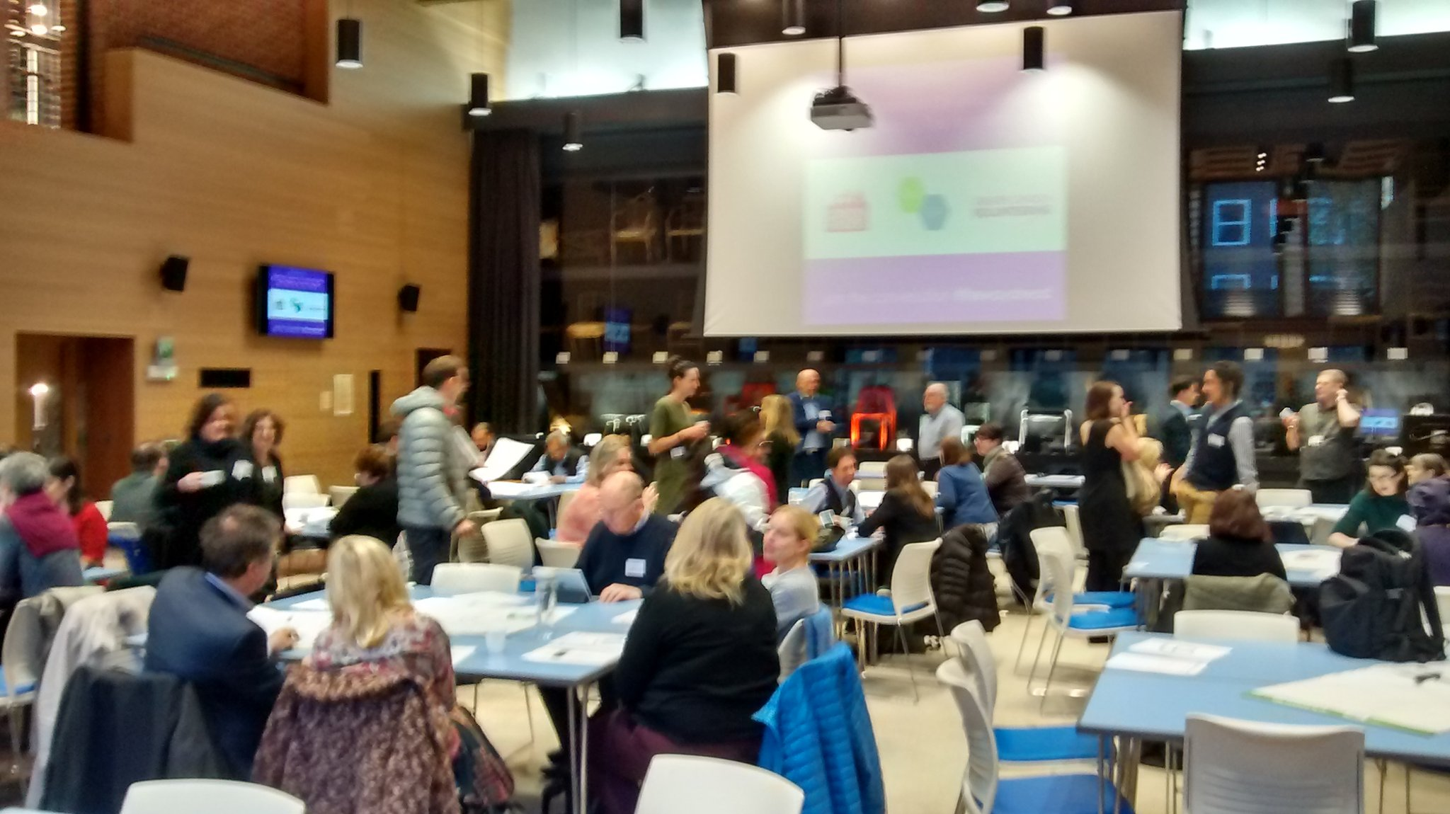#thewayahead event about to start @LVSCnews @SuperhighwaysUK @LondonFunders gonna co-produce something https://t.co/02BZqoTj9n