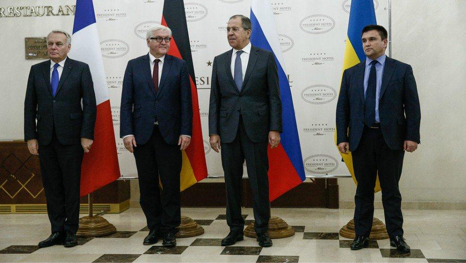 Thumbnail for Sergey Lavrov participation in Normandy Four FM meeting | Участие С.Лаврова во встрече глав МИД Нормандской четверки