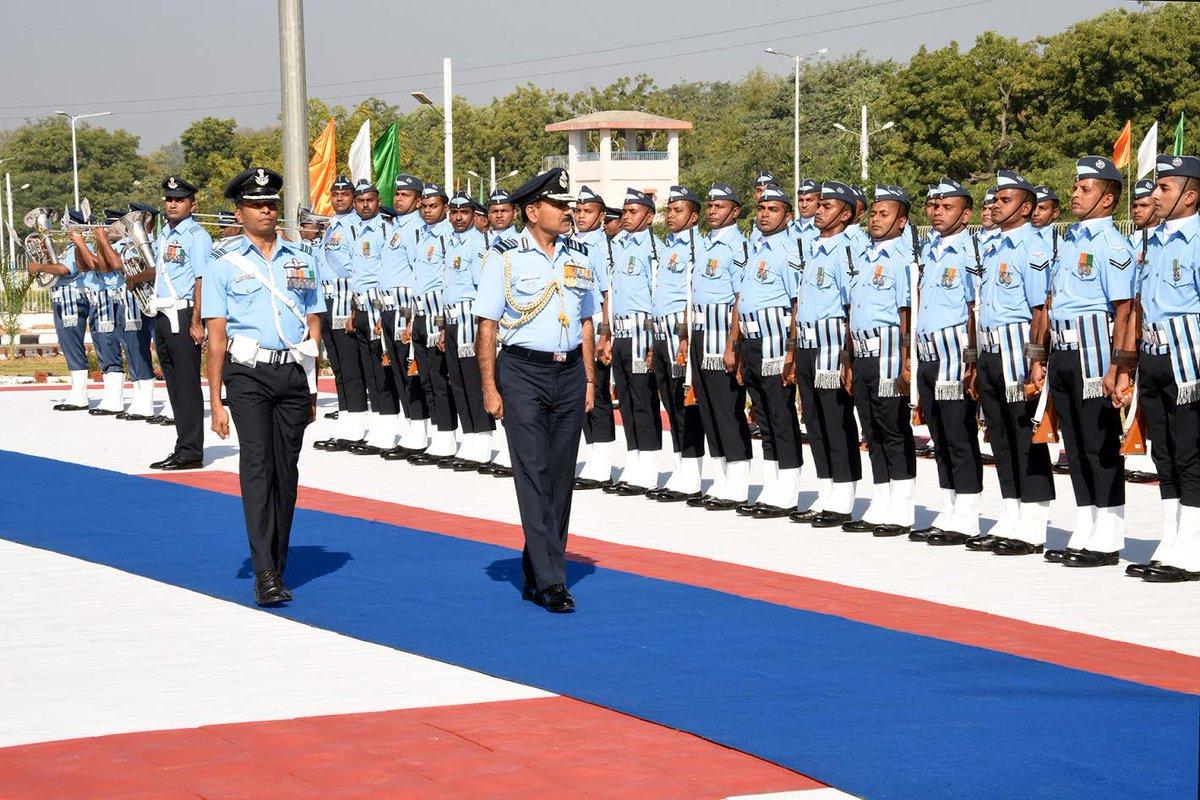 IAF Chief in Gujarat
