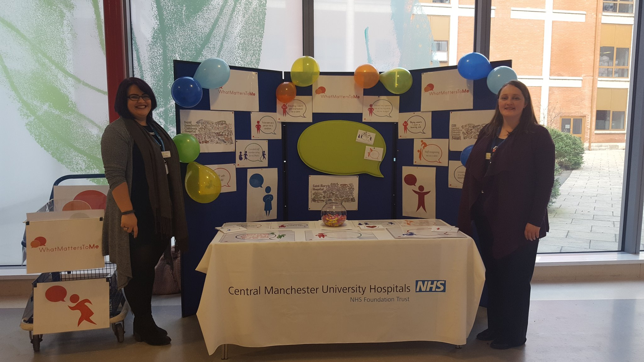 What Matters to you? Come & share your thoughts with the team @CMFTNHS MRI entrance 2 @cmftchiefnurse #WMTM #patientexperience #proudtocare https://t.co/bNxZYjKkji