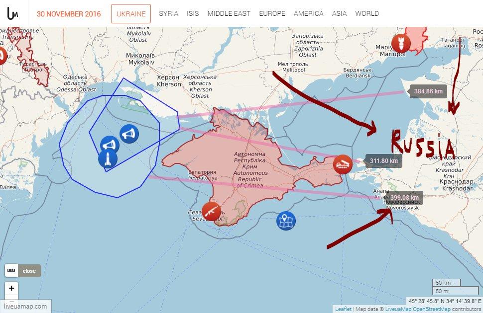 Минобороны пока не фиксировало провокаций со стороны РФ в ходе проведения ракетных стрельб - Цензор.НЕТ 7772