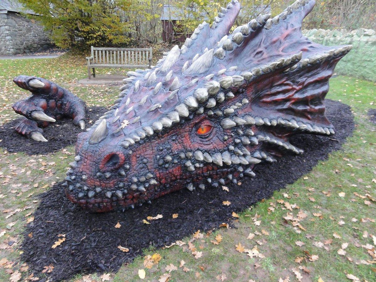 Cyfle olaf i weld y ddraig wythnos yma  | Last chance to see the @cadwwales dragon this week https://t.co/qKC1bOVC0E
