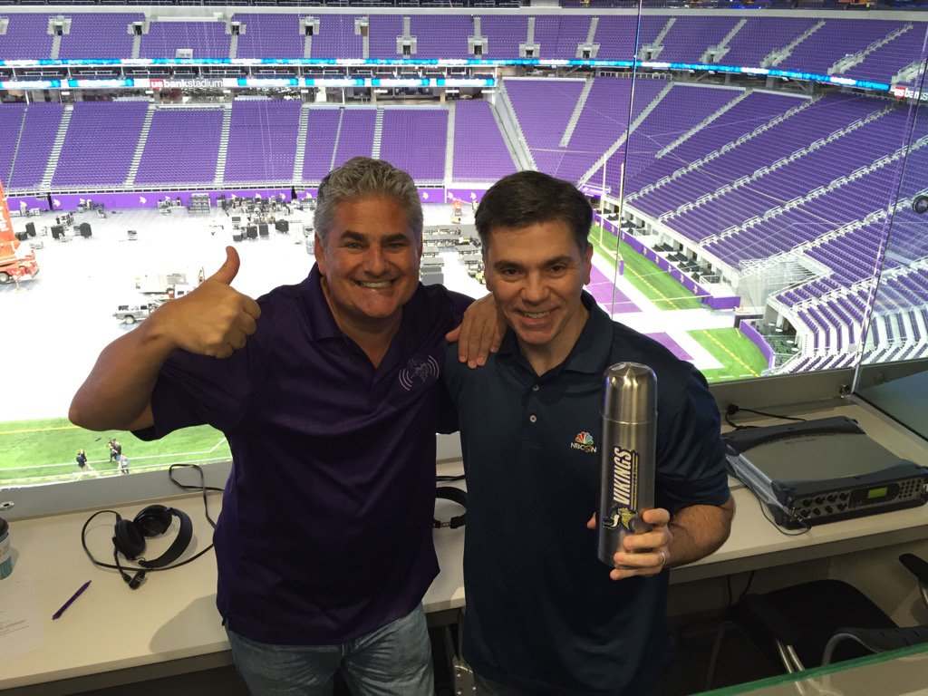 Image result for mike florio vikings