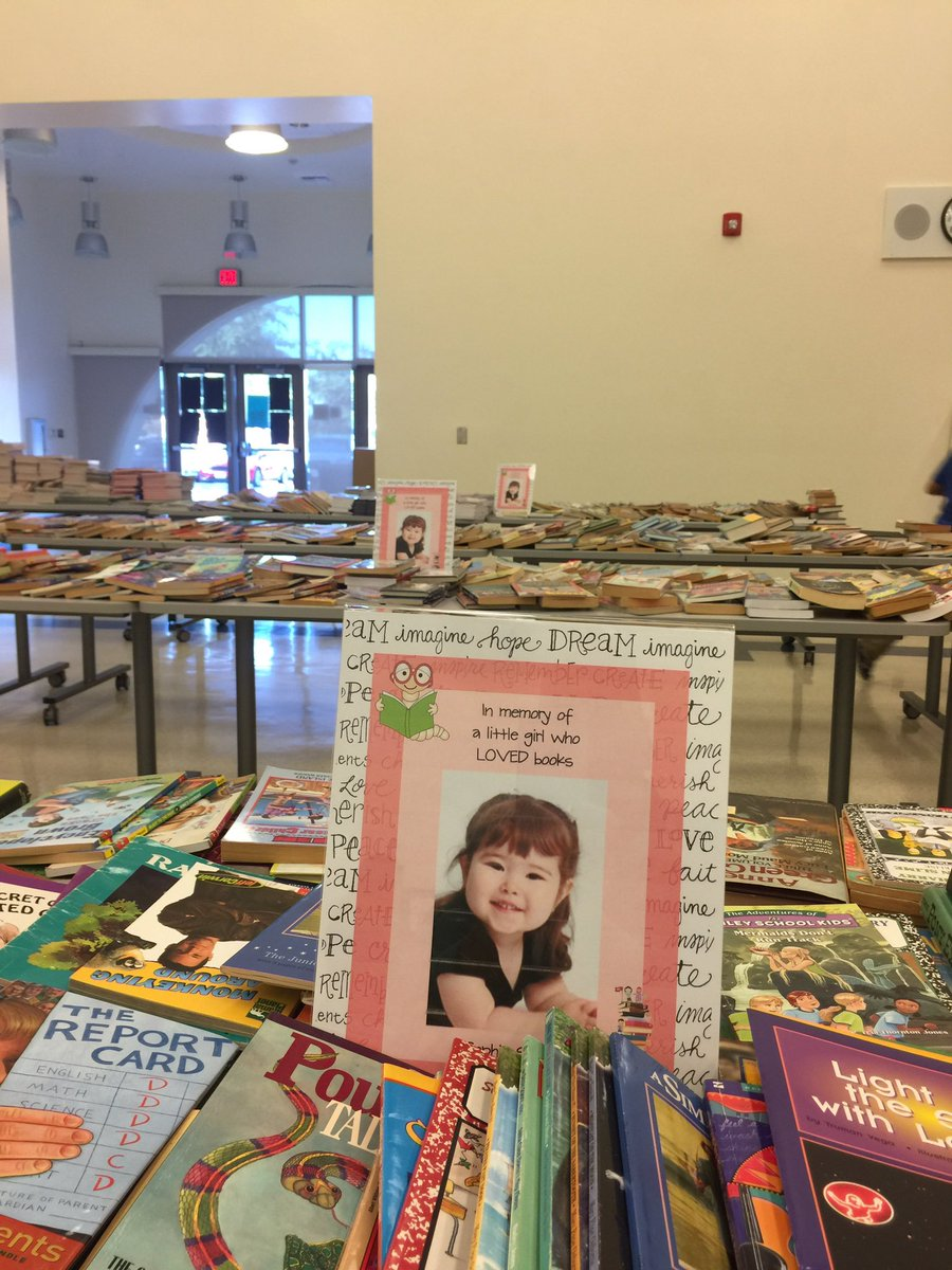 Annual book drive in memory of Sophia, daughter of AESD employee Wendy Sales.  Thanks to all who donated this year! https://t.co/P2wApQMabU