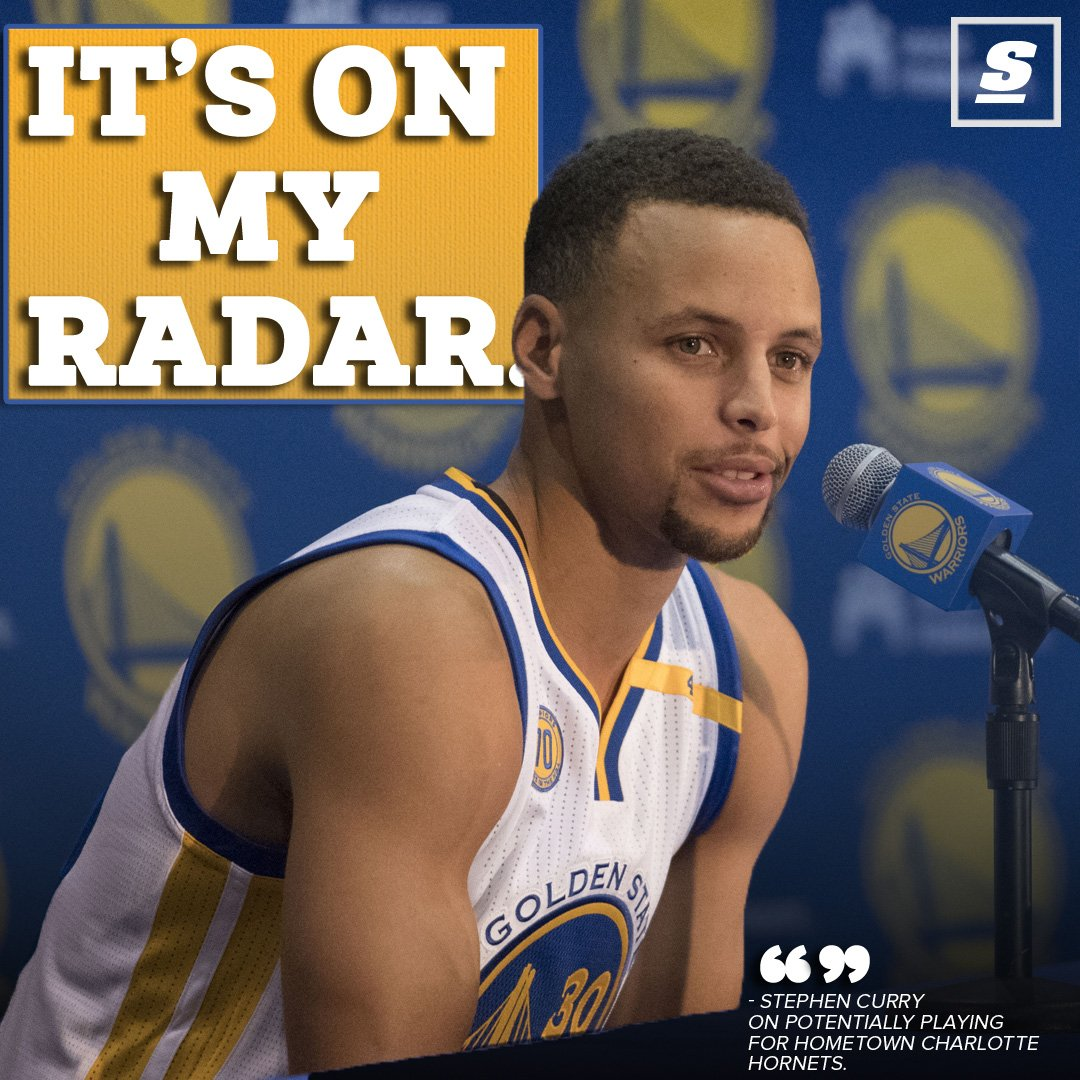3aff38c5a3c Stephen curry ➡ hornets  the 2-time mvp isn t ruling it out. - scoopnest.com