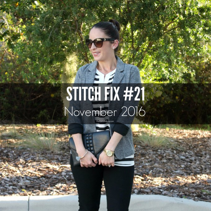 Stitch Fix October / November 2016 + $1,000 GIVEAWAY