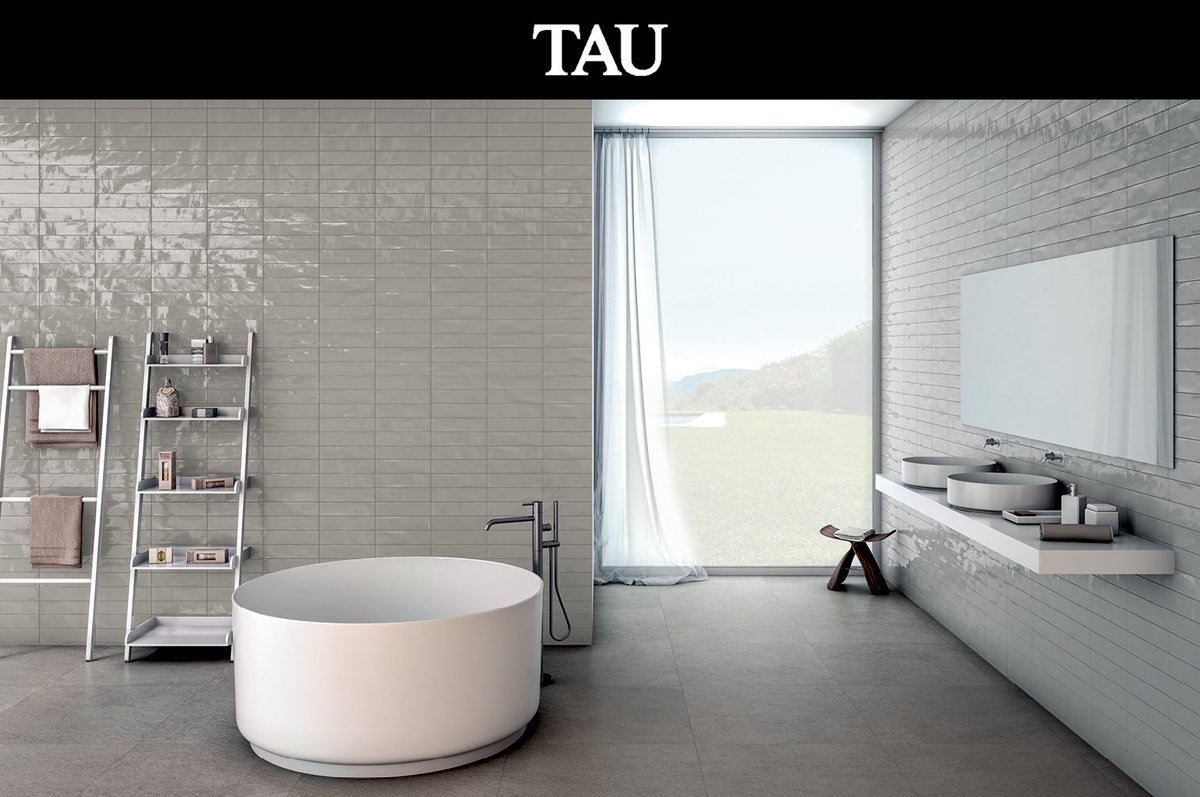 tau cermica on twitter metallic are you looking materials for your new bathroom maiolica imperia create this peaceful space