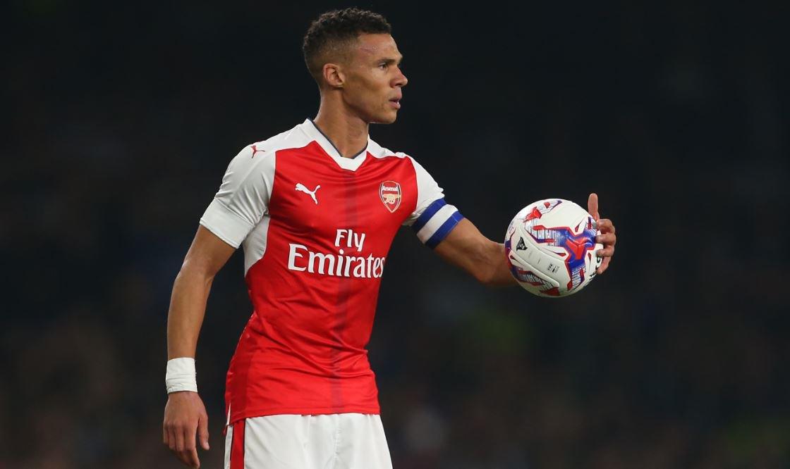 Kieran Gibbs captains the Gunners at the Emirates this evening https://t.co/mskehgPvZ3