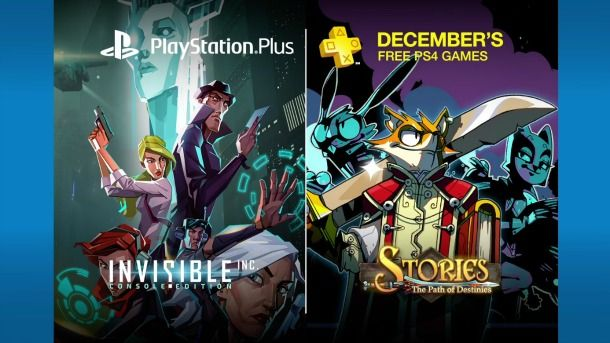 PS Plus free games December 2016