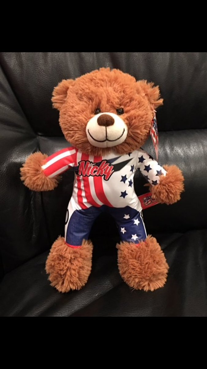 Christmas Present idea for your little one!! The new @NickyHayden bears.. Available on our website!!