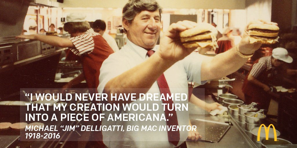 The Man Who Created the Big Mac Is Dead at 98. (He Ate 1 Every Week)