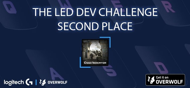 Overwolf On Twitter 2nd Place In The Logitechg Led Challenge