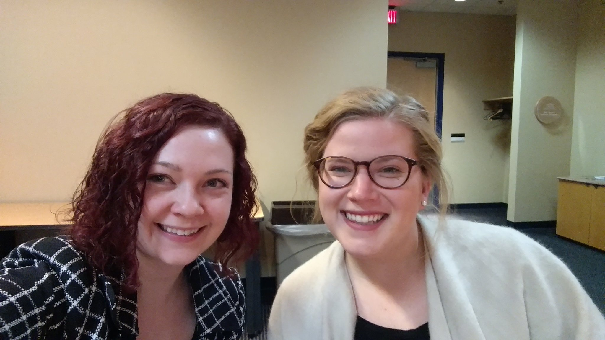 Me and @daurenluraj at the #hesm16 livestream. We are the @CMUniversity social media team. #blessed #lifeatcentral https://t.co/Yop5v0EHkx