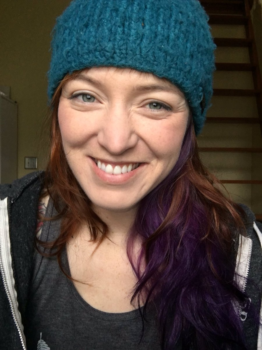 b295dd05637 Blue beanie selfie. I even washed my face first. You re welcome.